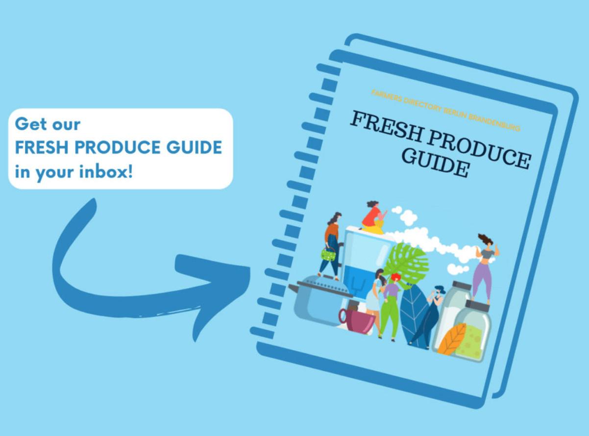 Fresh produce guide of Berlin Farms