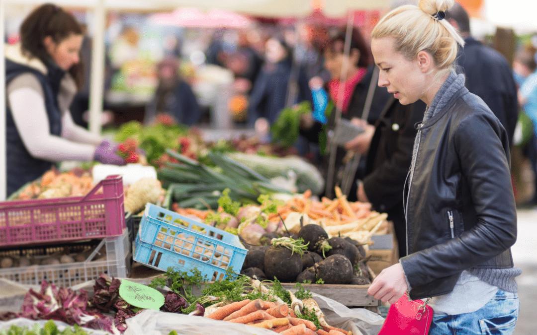 Lass uns lokal kaufen, saisonal kochen und gesund sein !