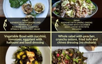Your summer salads with Benoo: Enjoy 4 best Benoo salads edited with seasonal ingredients