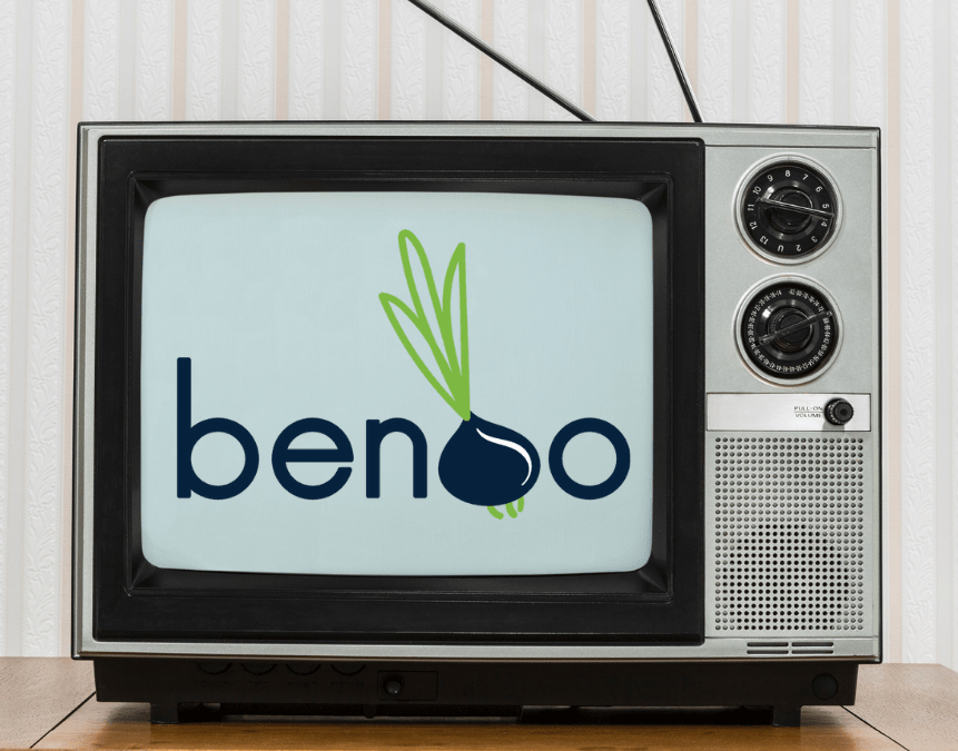 Benoo is on TV